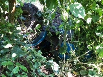 Agricultor sofre acidente com trator no interior de Feliz